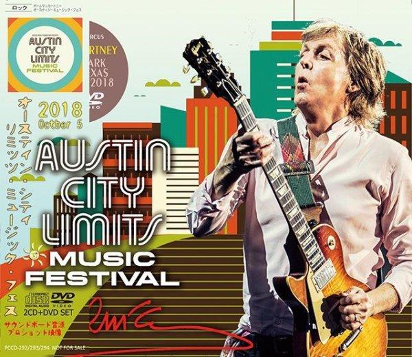 画像1: PAUL McCARTNEY / AUSTIN CITY LIMITS MUSIC FESTIVAL 2018 【2CD+DVD】 (1)
