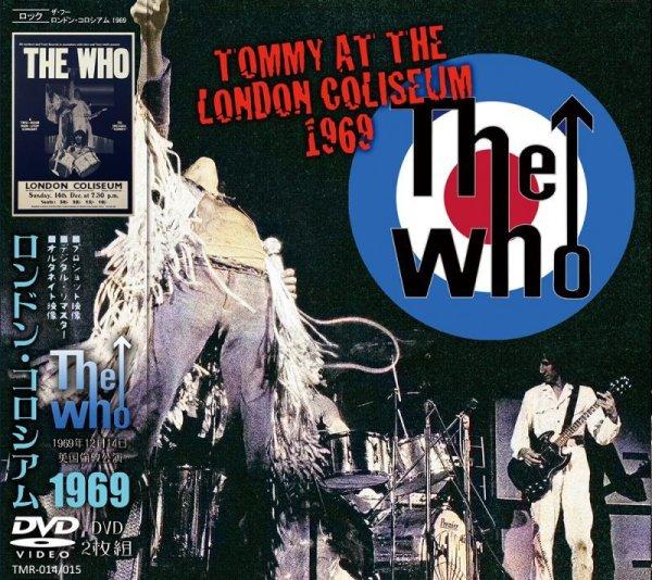 画像1: THE WHO / TOMMY AT THE LONDON COLISEUM 1969 【2DVD】 (1)