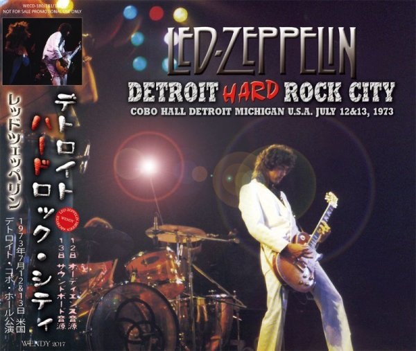 画像1: LED ZEPPELIN / DETROIT HARD ROCK CITY 【3CD】 (1)