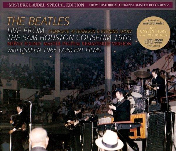 画像1: THE BEATLES / LIVE FROM THE SAM HOUSTON COLISEUM 1965 【2CD+DVD】 (1)