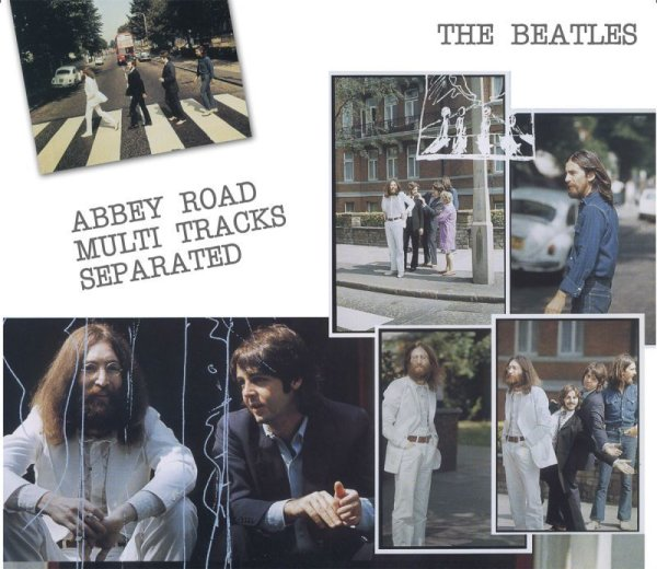 画像1: THE BEATLES / ABBEY ROAD MULTI TRACKS SEPARATED 【3CD】 (1)