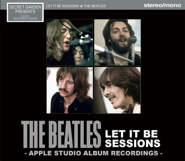 画像1: THE BEATLES / LET IT BE SESSIONS apple studio album recording 【6CD】 (1)