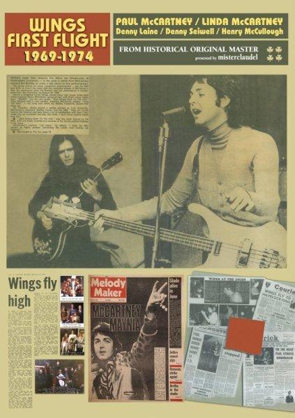 画像1: PAUL McCARTNEY / WINGS FIRST FLIGHT 1969-1974 【DVD】 (1)