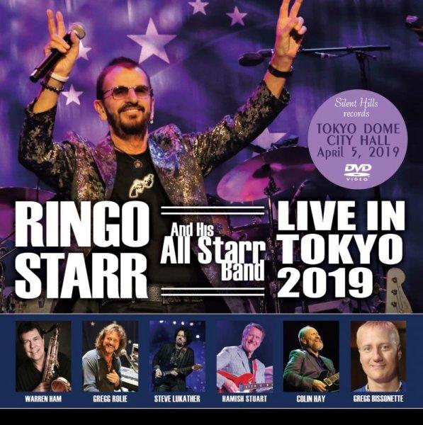 画像1: RINGO STARR / LIVE IN JAPAN 2019 【DVD】 (1)