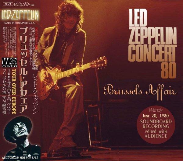 画像1: LED ZEPPELIN / BRUSSELS AFFAIR 1980 【2CD】 (1)