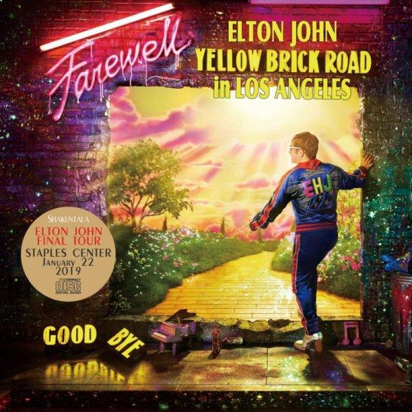 画像1: ELTON JOHN / FAREWELL YELLOW BRICK ROAD IN LOS ANGELES 【2CD】 (1)