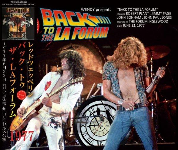 画像1: LED ZEPPELIN / BACK TO THE LA FORUM 1977 3CD (1)
