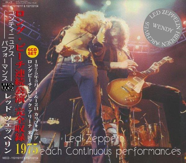 画像1: LED ZEPPELIN / LONG BEACH CONTINUOUS PERFORMANCES 【6CD】 (1)