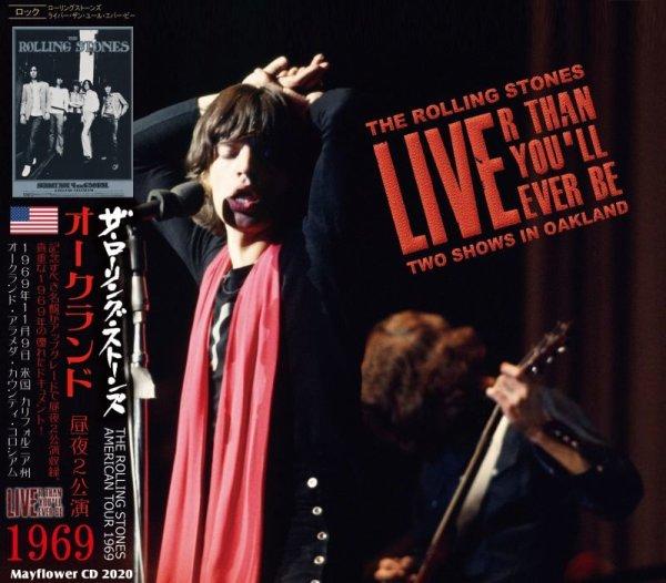 画像1: THE ROLLING STONES 1969 LIVE'R THAN YOU'LL EVER BE 2CD (1)