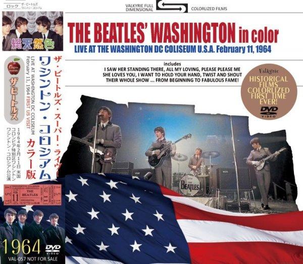 画像1: THE BEATLES 1964 THE BEATLES' WASHINGTON IN COLOR DVD (1)